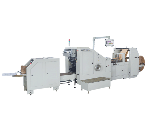 LSB-200 High Speed Auto Kraft Paper Square Bottom Paper Bag Making Machine
