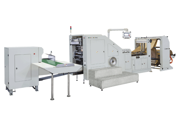 LSB-200 web side of the paper bag machine video broadcast