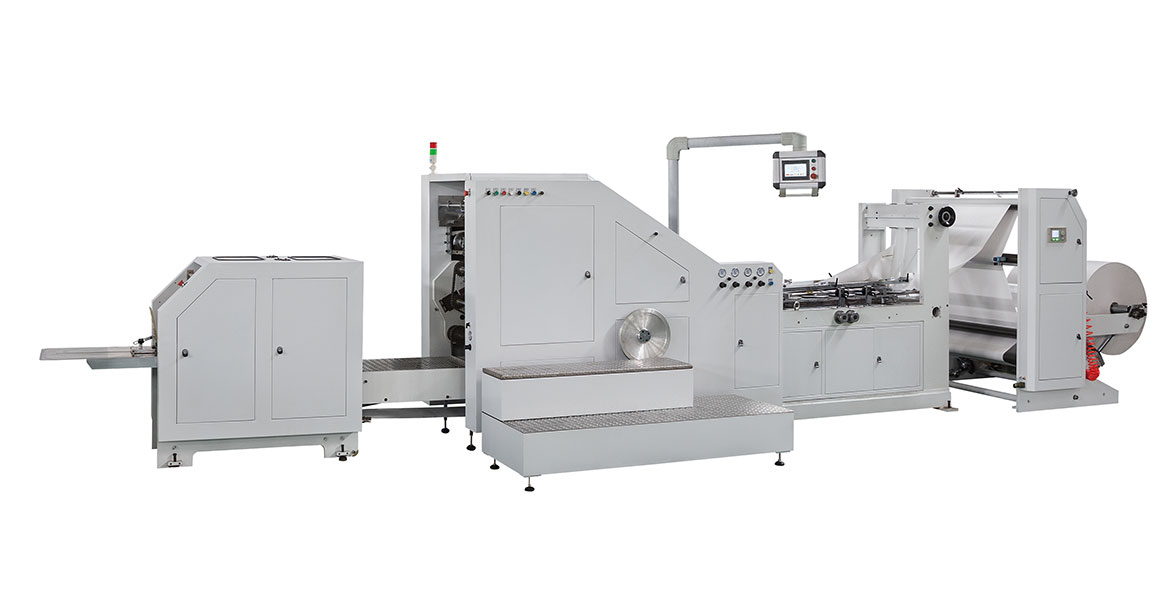 LSB-450 Roll Feeding Auto Square Bottom Paper Bag Making Machine